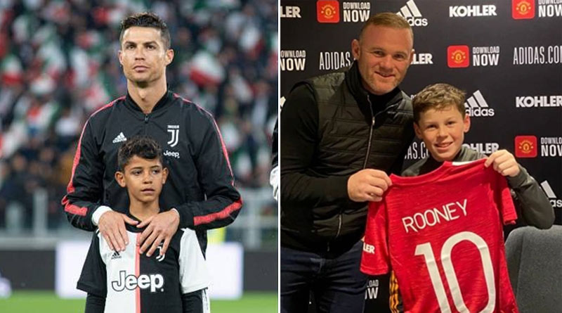 Cristiano Ronaldo's son Cristiano Jr set to play for Man Utd academy as team-mate of Wayne Rooney's kid Kai | Sangbad Pratidin