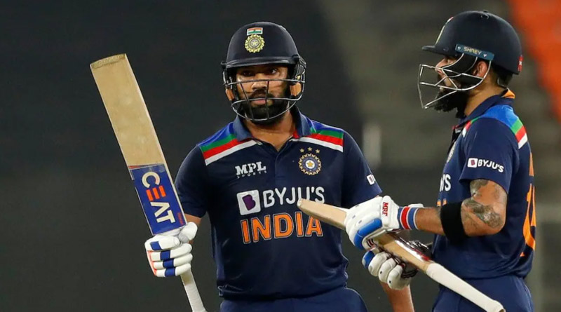 Rohit Sharma Set to Replace Virat Kohli as Limited Overs Captain After T20 World Cup, says Report | Sangbad Pratidin