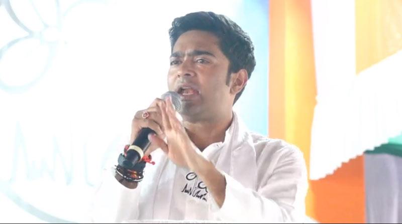 TMC leader Abhishek Banerjee slams BJP on Hinduism | Sangbad Pratidin