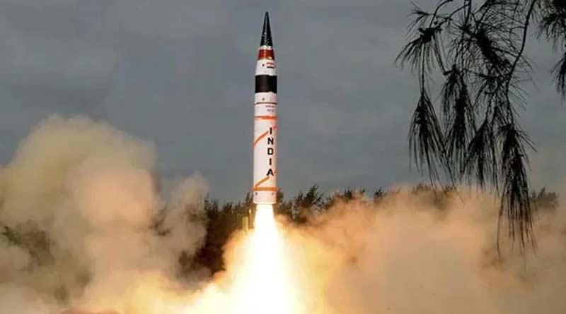 India successfully tests nuclear-capable Agni-V ballistic missile | Sangbad Pratidin