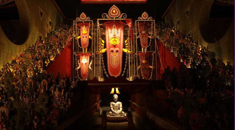 Puja of Arjunpur Amra Sabai Club