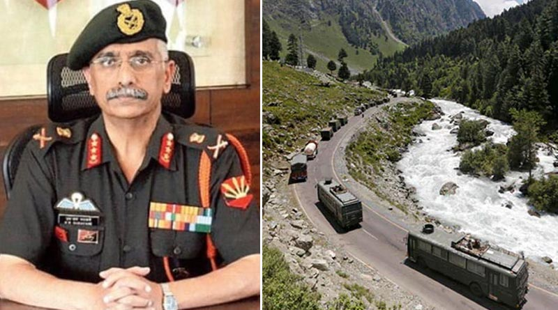 Chinese Troops Deployed In Considerable Numbers Across Ladakh, says Army Chief | Sangbad Pratidin