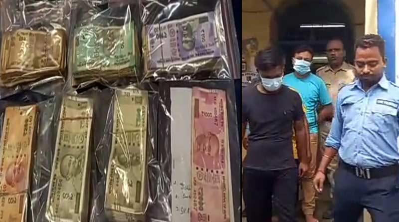 Burdwan police arrested three people for T-20 World Cup betting । Sangbad Pratidin