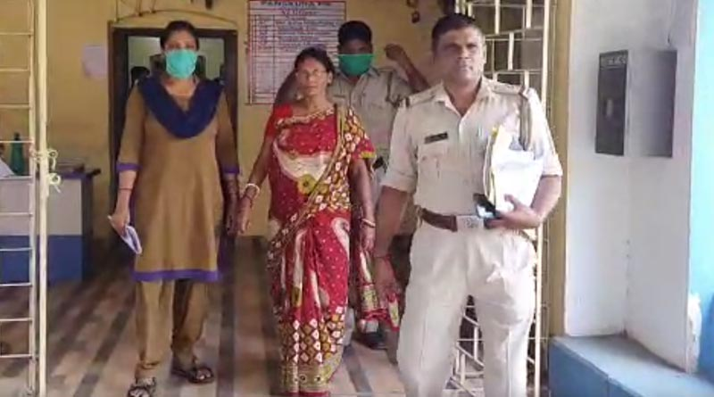 Maidservant allegedly beaten a baby in Panskura । Sangbad Pratidin