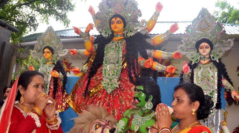 Durga Puja 2021: For the first time women organise Puja at Ramana, Dhaka | Sangbad Pratidin