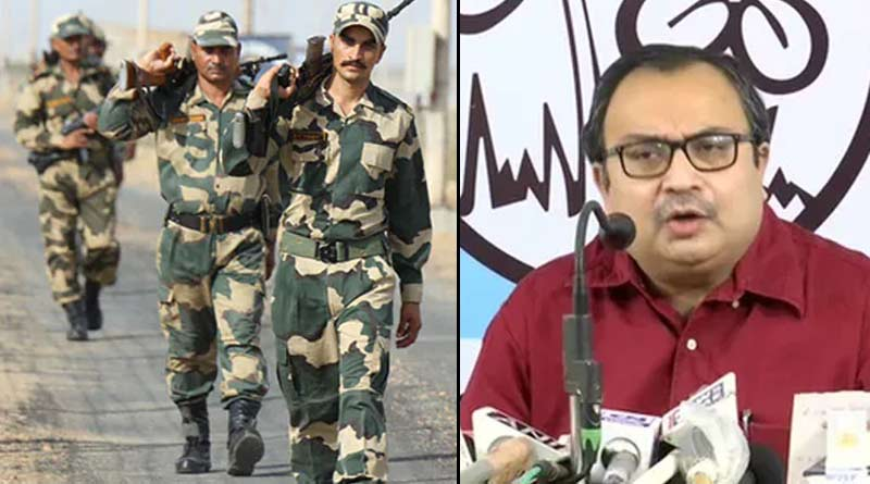 Kunal Ghosh protest additional power granted to BSF in West Bengal | Sangbad Pratidin