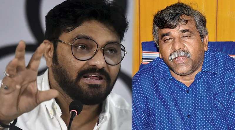 BJP leader Jitendra Tiwari slams TMC leader Babul Supriyo | Sangbad Pratidin