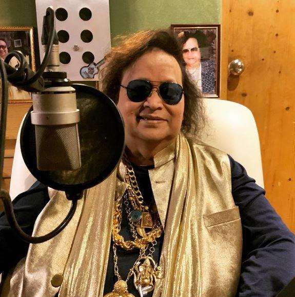 Rituparna Sengupta records song with Bappi Lahiri