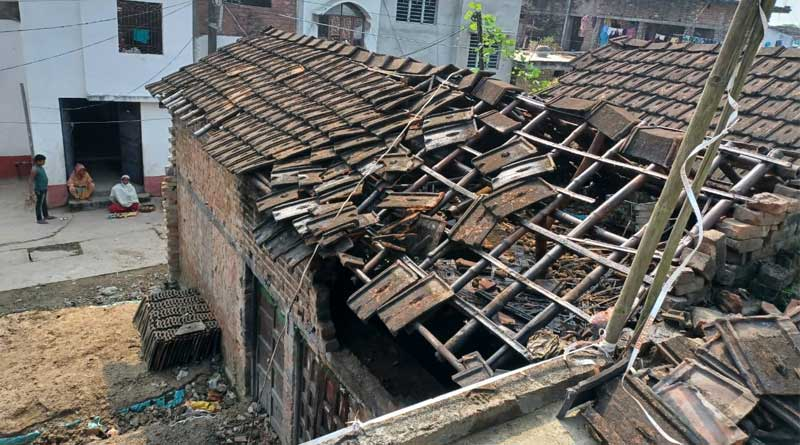 Bomb blast in Malda's kaliachak area, police started investigation | Sangbad Pratidin