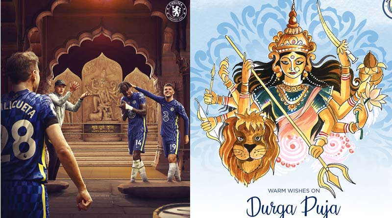 Durga Puja 2021: English clubs wishes Indian fans | Sangbad Pratidin