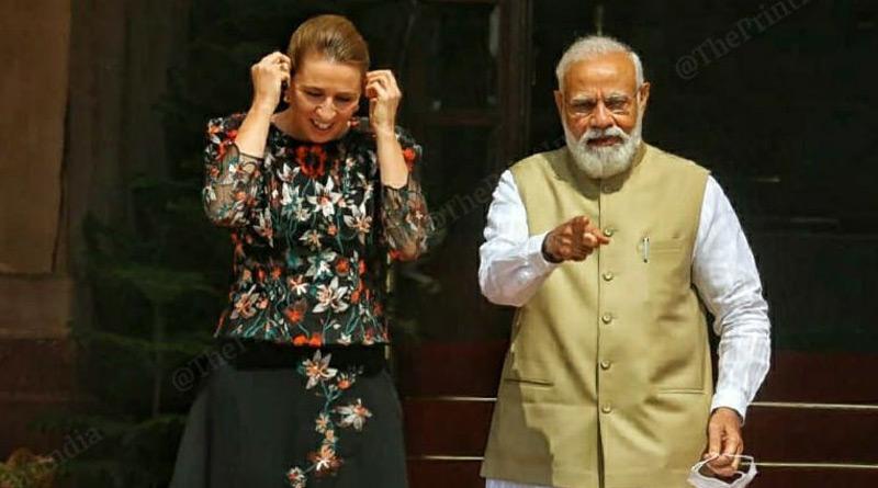 Denmark PM praises Modi as 'inspiration' for world। Sangbad Pratidin