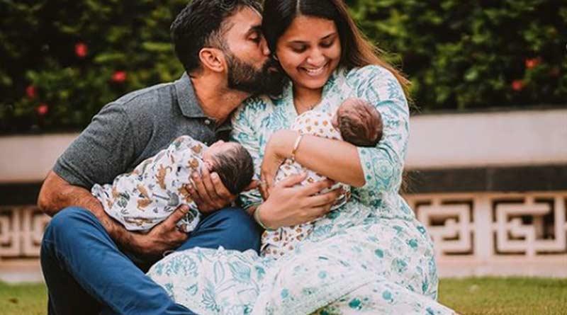 Dinesh Karthik and Dipika Pallikal Karthik blessed with two baby boys । Sangbad Pratidin