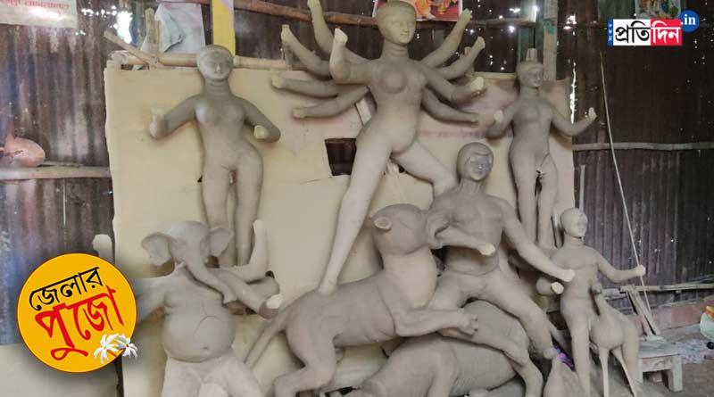 Former inmate makes Durga Idol at Balurghat Central Jail । Sangbad Pratidin