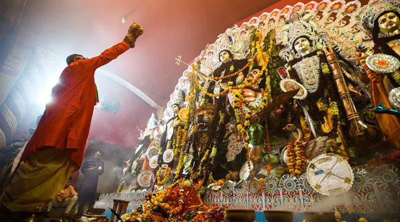 Security tightened in Bangladesh during Durga Puja | Sangbad Pratidin