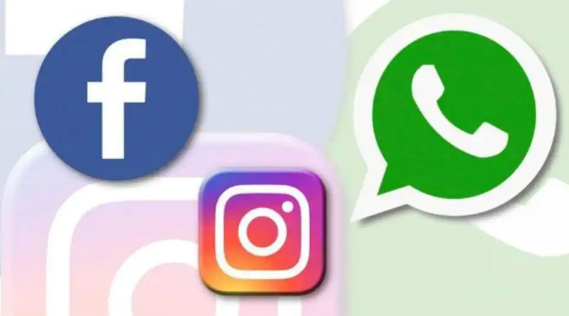 Facebook, WhatsApp and Instagram down in all over India | Sangbad Pratidin