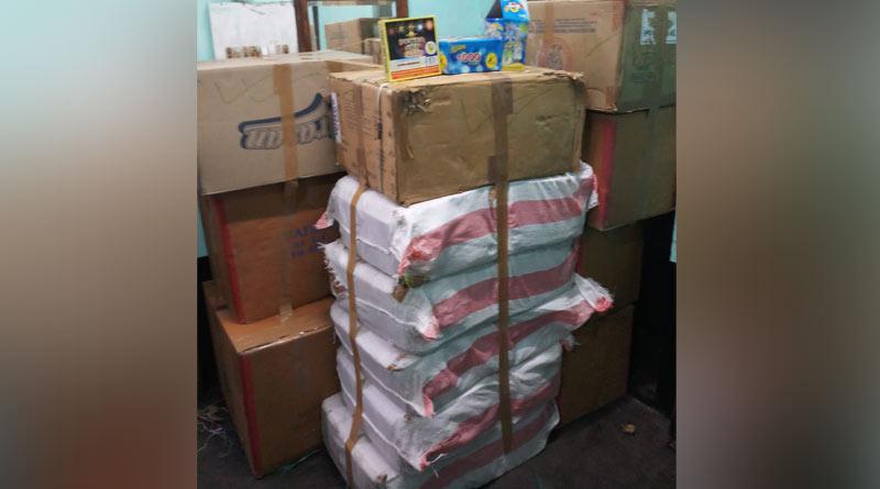 Kolkata Police recovers 600 kg banned fire crackers before Diwali, arrested one | Sangbad Pratidin