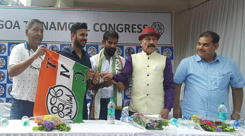 Two players of National level join Trinamool Congress in Goa | Sangbad Pratidin