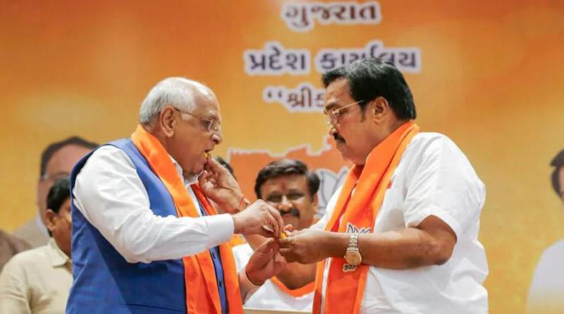 BJP wins Gandhinagar and 2 other civic bodies in Gujarat। Sangbad Pratidin