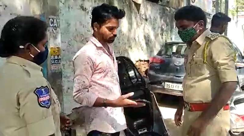 Hyderabad police checks commuters phones to look for words such as 'drugs' । Sangbad Pratidin