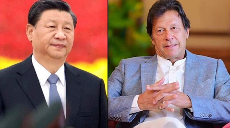 Pakistan PM Imran Khan talks with Chinese President | Sangbad Pratidin