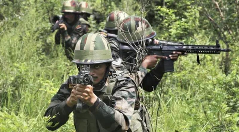 Indian Army guns down six LeT terrorists in Rajouri jungles, fire-fight on | Sangbad Pratidin