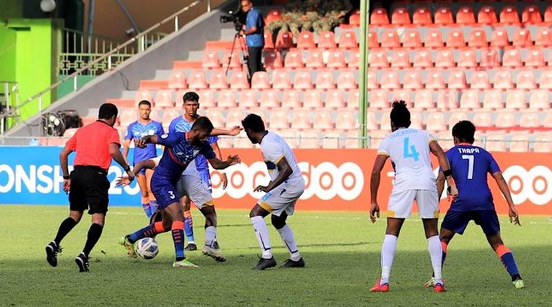 SAFF Championship 2021: India vs Srilanka match ends in a draw | Sangbad Pratidin
