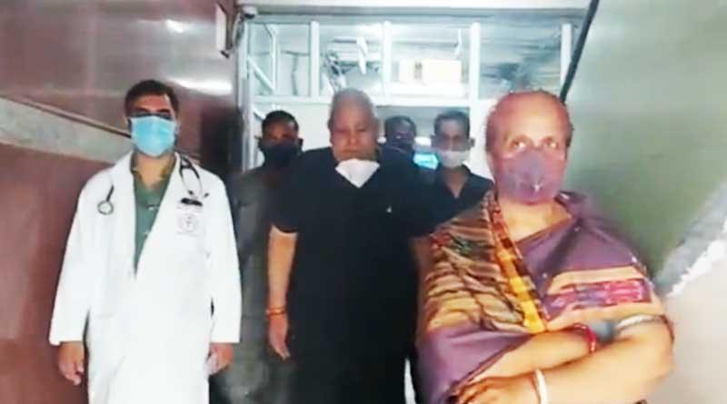West Bengal Governor Jagdeep Dhankhar discharged from AIIMS Delhi | Sangbad Pratidin