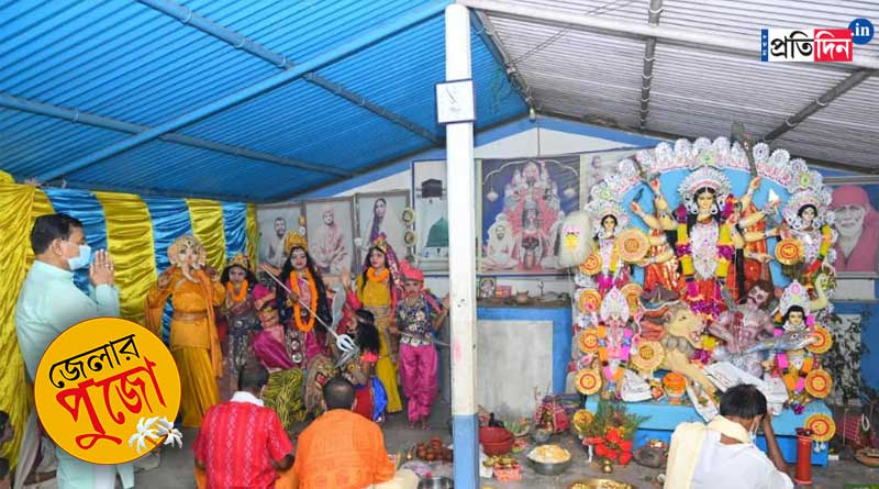 Know interesting facts of orphanage home's Durga Puja of Kalna | Sangbad Pratidin