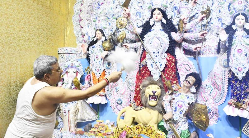 Watch some picture of Durga Puja of west bengal | Sangbad Pratidin