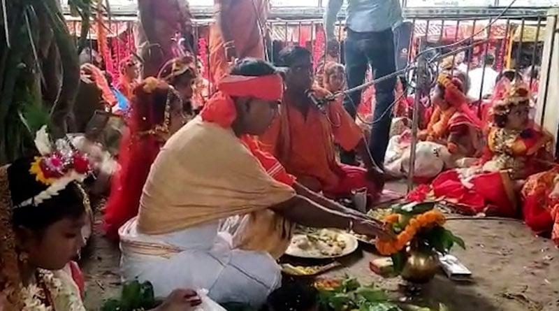 Read interesting facts about Kankalitala's Kumari Puja | Sangbad Pratidin