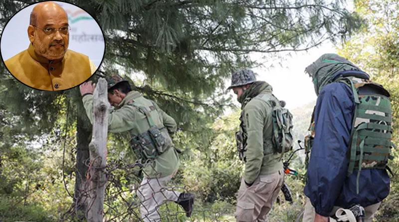 Soldier, 2 Cops injured in Poonch during Amit Shah's Kashmir Visit | Sangbad Pratidin