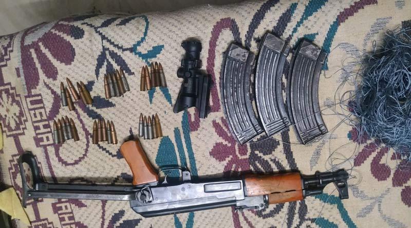 AK-47 Rifle, Night Device Dropped Via 'Drone' Recovered in Jammu। Sangbad Pratidin