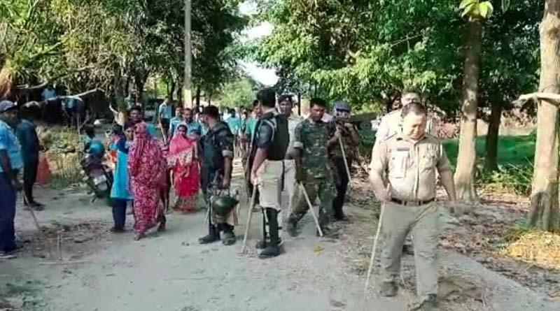 Police attacked by smuggler of fake currency near Indo-Bangladesh border in Bangladesh | Sangbad Pratidin