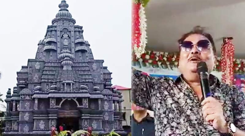 Durga Puja 2021: TMC MLA Madan Mitra inaugurates Durga Puja in Bangaon | Sangbad Pratidin