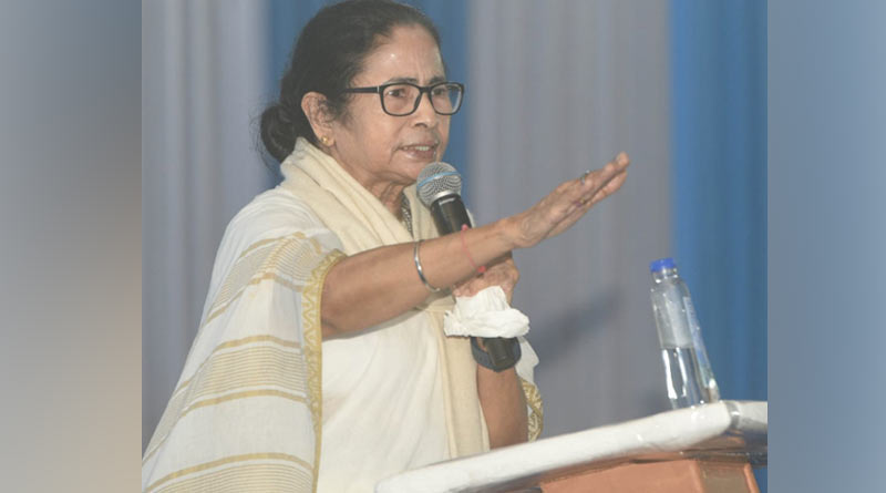 Mamata Banerjee raises question on centre's claim of 100 crore vaccination from Siliguri | Sangbad Pratidin