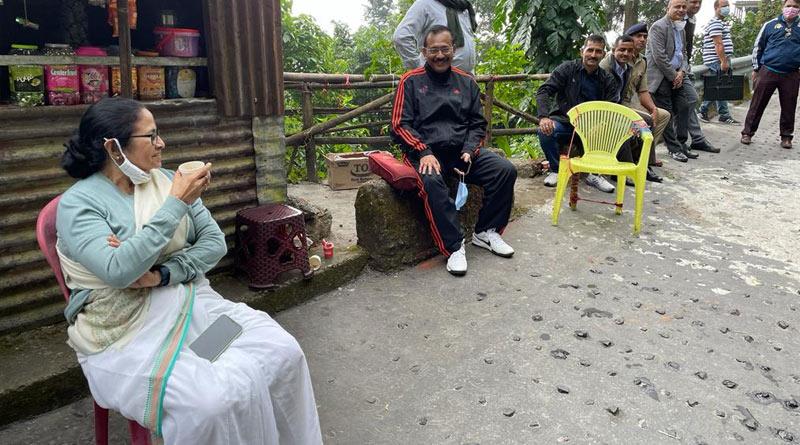 Chief Minister Mamata Banerjee visits Kurseong | Sangbad Pratidin
