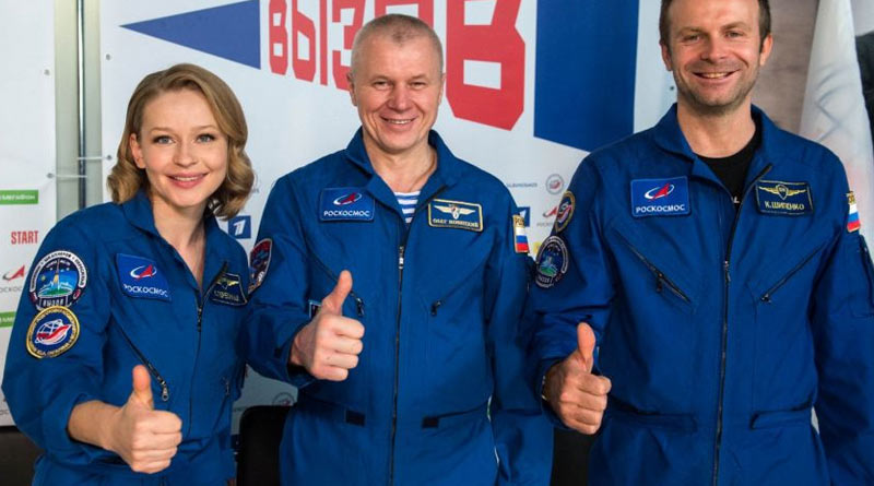 Shooting will be done into Moon and Mars, says Russian director after shooting first film in space | Sangbad Pratidin