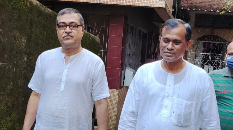 Cooch Behar: TMC district president meets BJP MLA Mihir Goswami