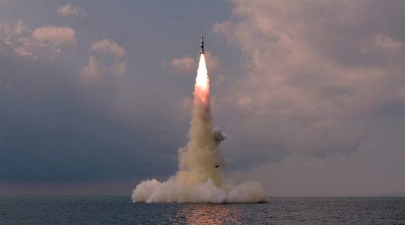 North Korea tested new 'submarine-launched ballistic missile'