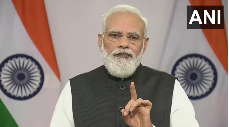 100 crore vaccine answers all concerns raised on India says PM Modi | Sangbad Pratidin
