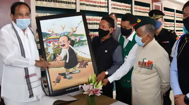 China objects to Venkaiah Naidu's recent visit to Arunachal Pradesh, MEA responds | Sangbad Pratidin