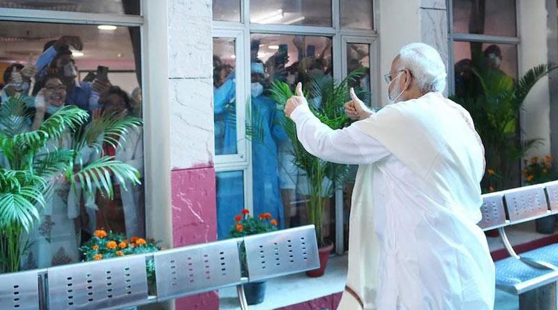 PM Modi congratulated the country on this historic milestone। Sangbad Pratidin