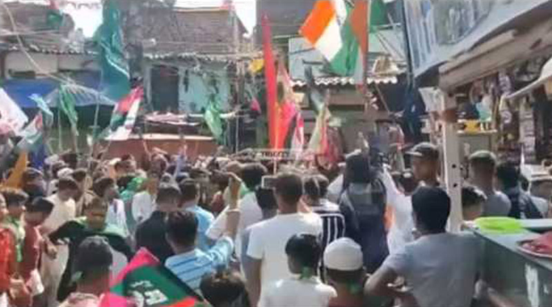 Three arrested for raising Pakistan Zindabad slogan during religious procession in Noida | Sangbad Pratidin
