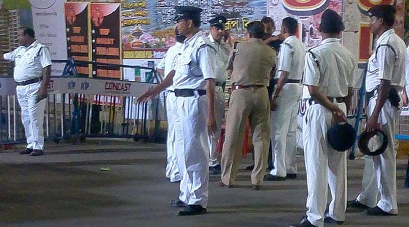 One bike rider name Subrata Das allegedly attacked 4 cops | Sangbad Pratidin