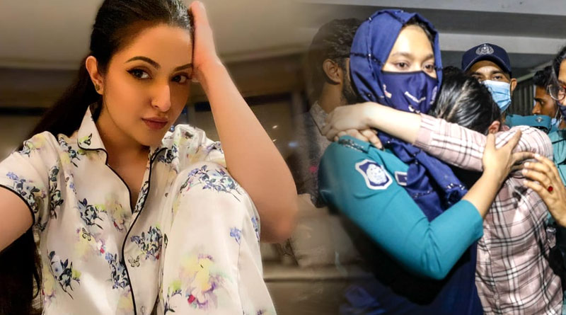 Actress Pori Moni gets sick at bail hearing | Sangbad Pratidin