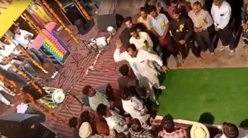 Punjab Congress MLA slaps man who questions him on performance। Sangbad Pratidin