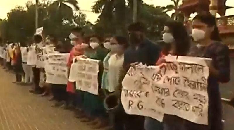 Junior doctors of RG Kar Medical College continue their protest, medical services disrupted | Sangbad Pratidin