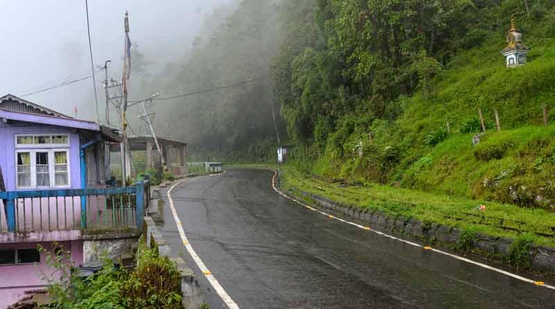 MeT predicts light to moderate rain in Darjeeling । Sangbad Pratidin