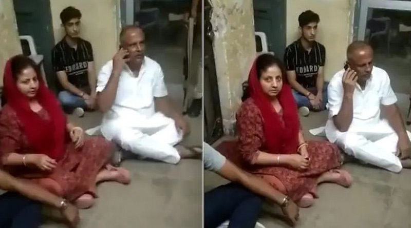 Rajasthan MLA stage dharna in police station against arrest of nephew for drunk driving। Sangbad Pratidin