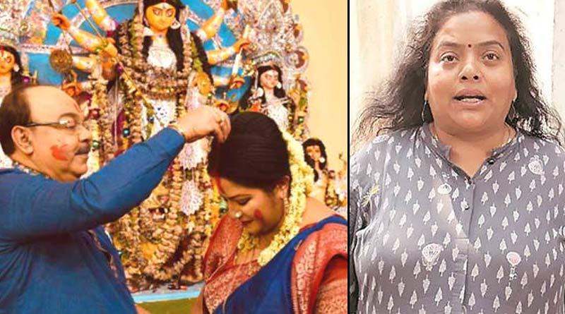 Ratna Chatterjee's reaction on sindur khela of Sovan Chatterjee and Baishakhi Banerjee | Sangbad Pratidin
